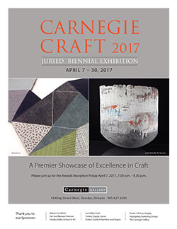 Carnegie Craft Poster